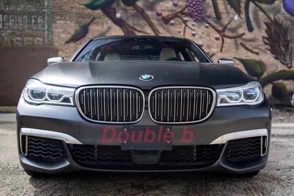 Double b BMW 寶馬 G12 G11 M-tech an 前保桿 總成 台灣製造完美品質 配件齊全 密合度市售最優 760 750 740 730
