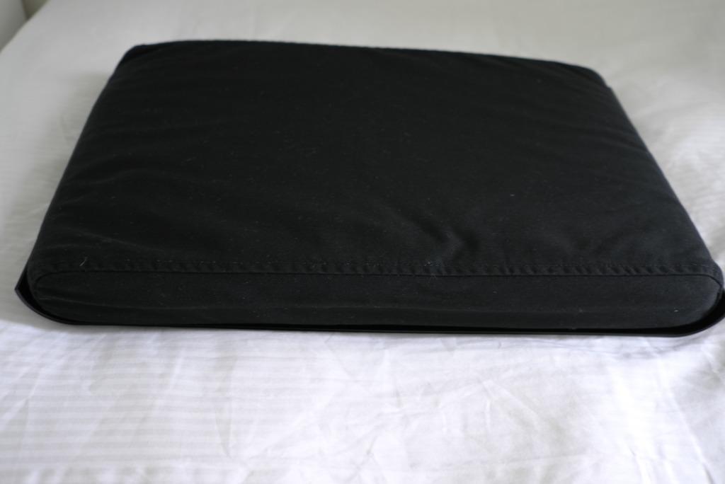 IKEA STADJAN - Laptop support, black - 50x32 cm