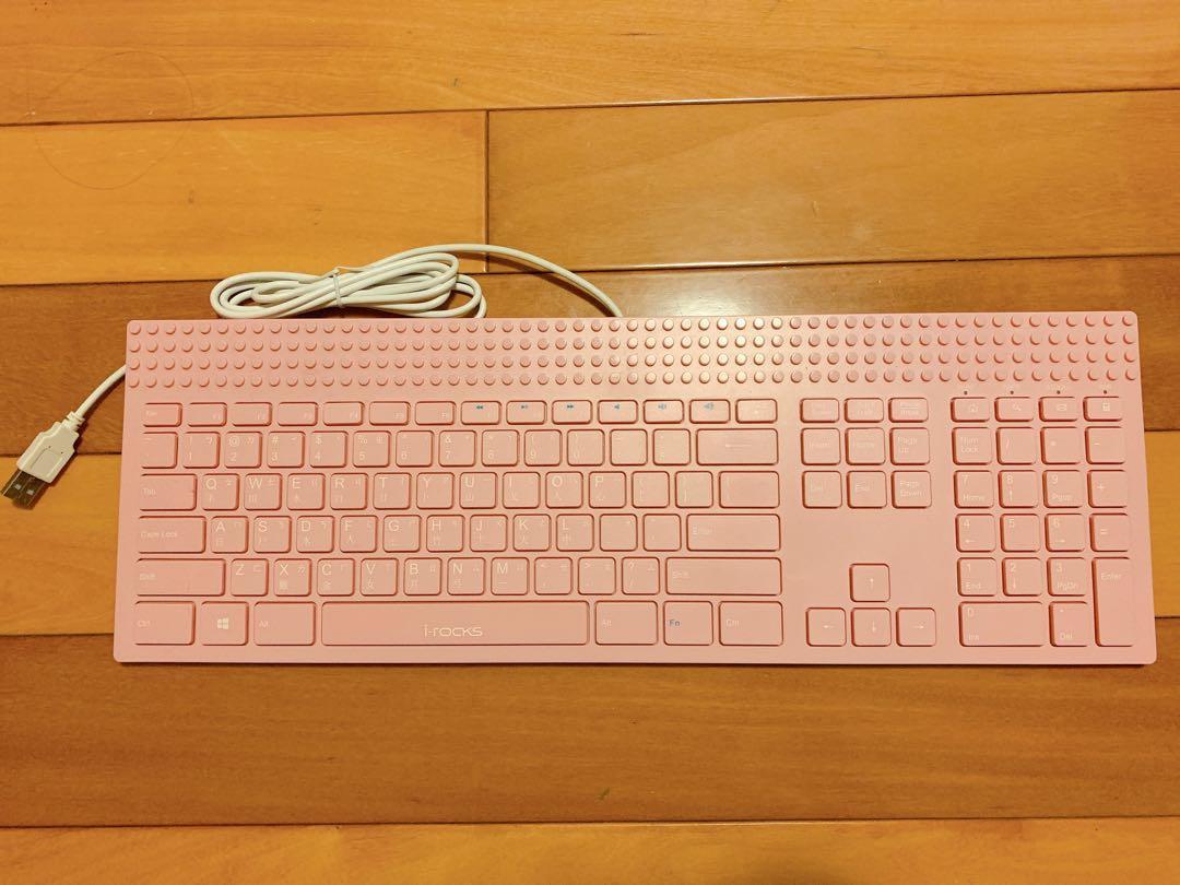Irocks粉色鍵盤