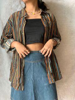 Kemeja Garis / Striped Shirt