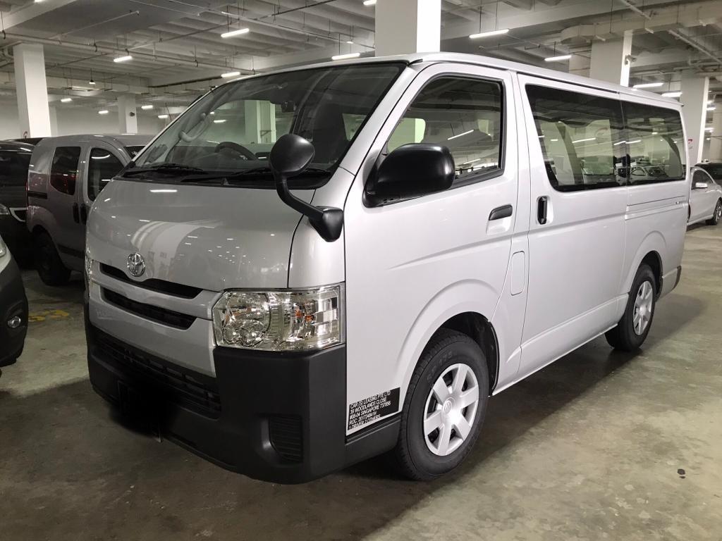 New Toyota Hiace Auto Available