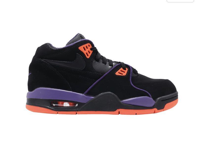 "🔥Nike Air Flight 89 ""Court Purple, Black & Orange"