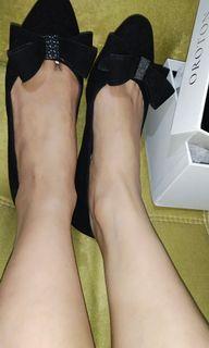 Oroton authentic flat shoes