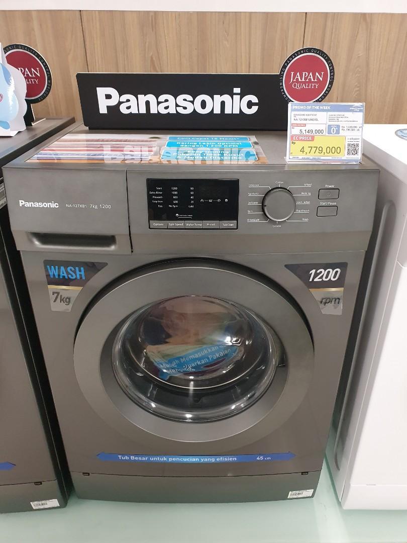 Promo Cicilan Free Admin Mesin Cuci Panasonic 7Kg Proses 3 Menit