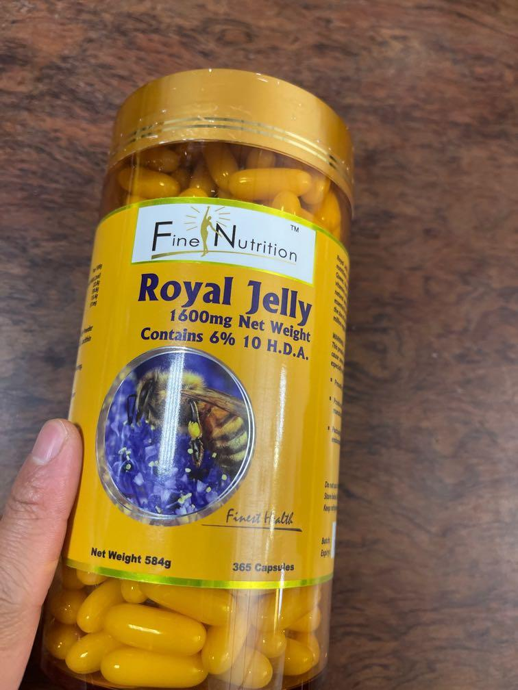 Royal Jelly 1600mg 蜂王乳 澳洲製 6% 10 H D A