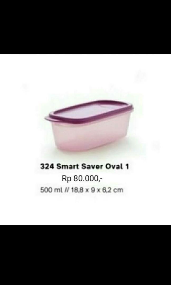 Smart Saver Oval 1 Purple (Tupperware)