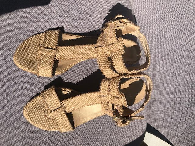 Stuart Weitzman Strappy Kitten Heel Sandals on Sale!