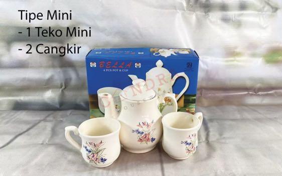 Tea set cangkir teh mini ala inggris
