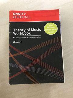 Trinity Guidehall / Theory of Music Workbook Grade 1 / Buku Musik