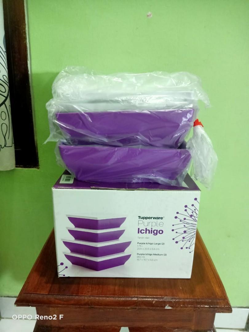 Tupperware Promo Purple Ichigo