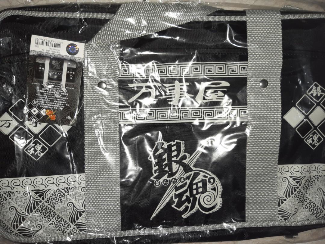 銀魂黑色校園手提包