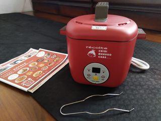 小丸子recolte麗克特迷你小電鍋調理鍋料理鍋