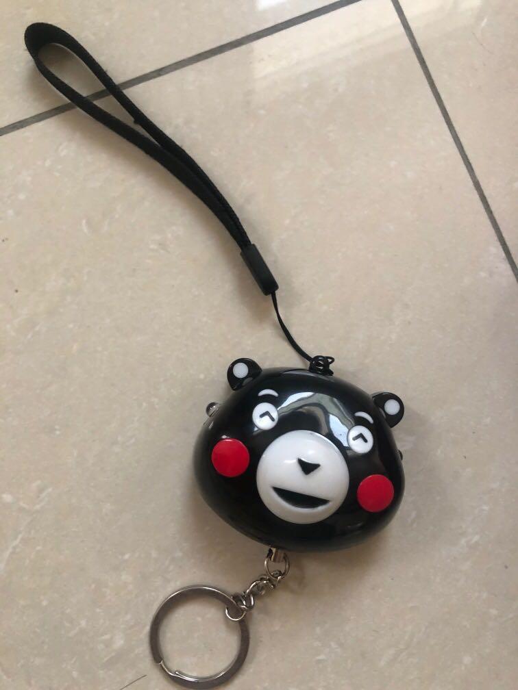 日本熊本熊防狼警報器