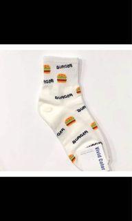 正韓襪 滿版漢堡系列🇰🇷