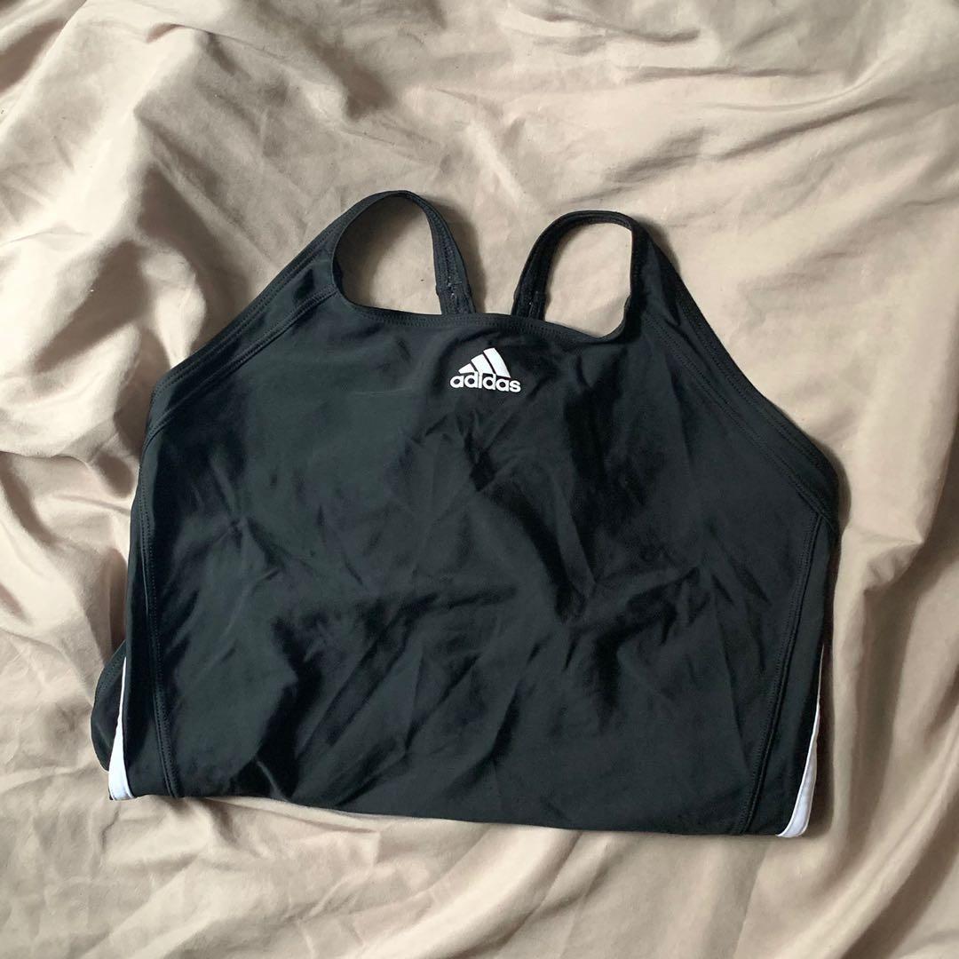 Adidas Infinitex Fitness 3 Stripe Swimsuit