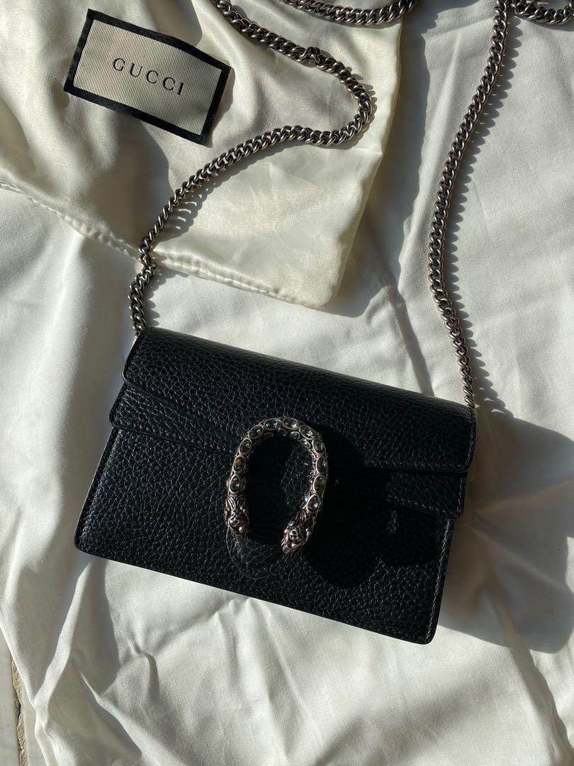 Authentic Gucci super mini Dionysus leather bag *Price firm - Serious inquiries only*