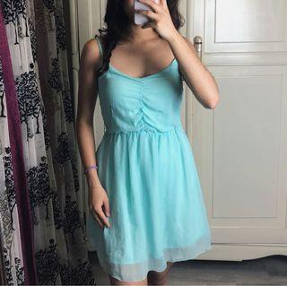 Bershka - Turquoise Dress