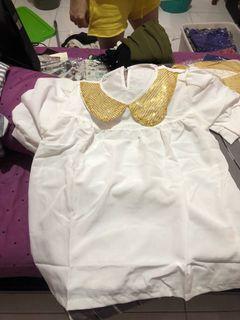 Blouse korea new size M-L
