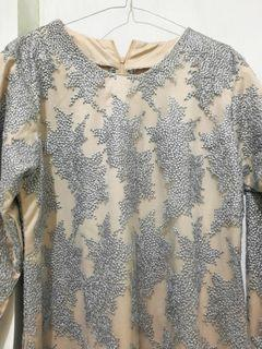 Dress Brokat Abu #MaretSale