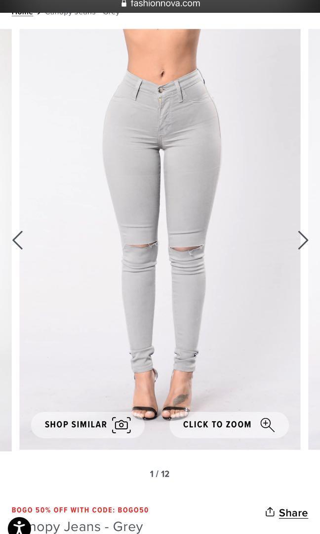 Fashion nova canopy jeans