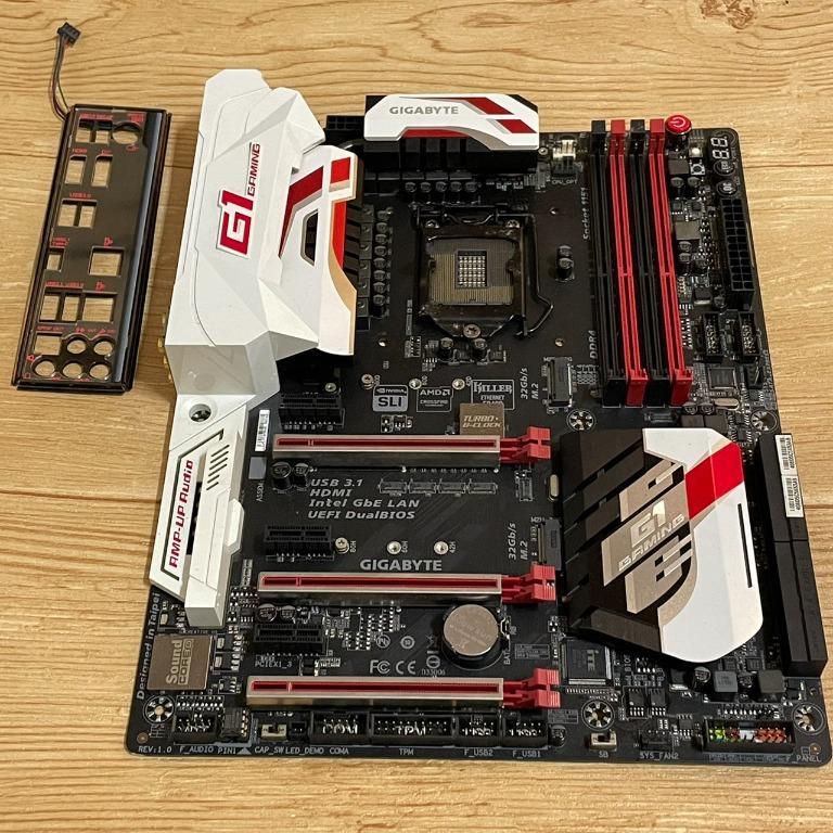 技嘉GYGABYTE Z170X Gaming G1 Z170主機板