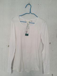 H&M Round Neck Cotton Shirt