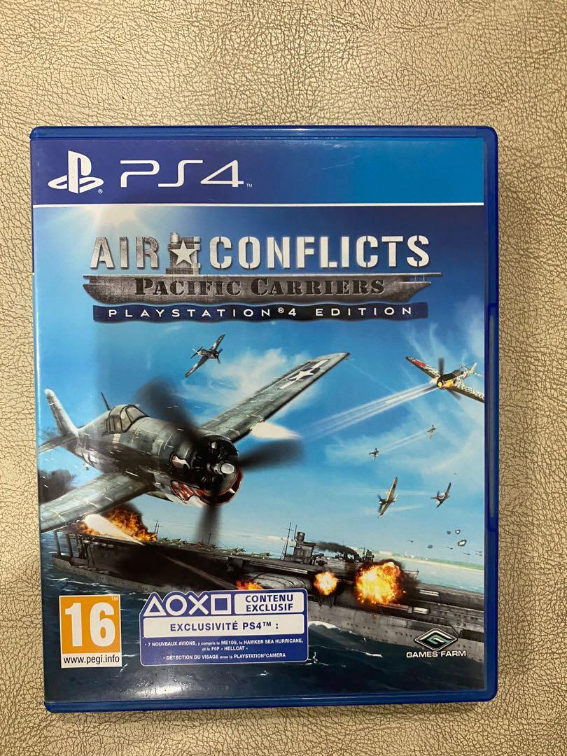 Kaset PS4 Air conflicts pacific carriers second