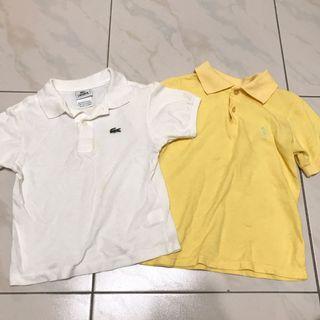 兩件組-Lacoste透氣polo衫