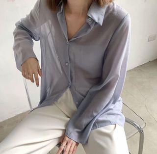 Perdot雪紡襯衫