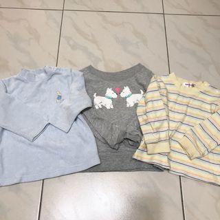 三件組-Peter Rabbit 秋冬款長袖上衣