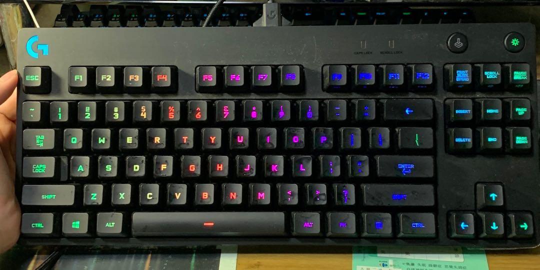 羅技電競電競PGB遊戲鍵盤