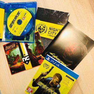PS4遊戲 電馭叛客 2077 Cyberpunk 2077 中文版