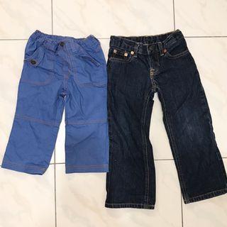 兩件組-Ralph Auren 日牌牛仔褲