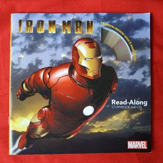 "Read Along Storybook ""Iron Man & Captain America"""