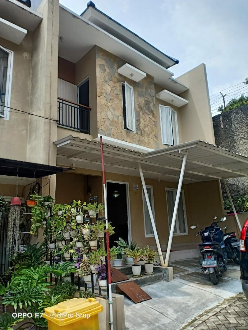 Rumah Cluster 2 lantai dekat stasiun Sudimara
