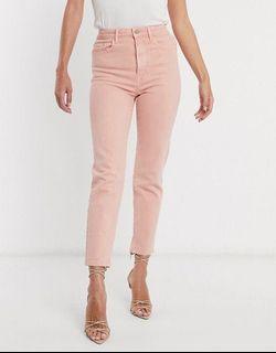 Stradivarius Blush Pink Jeans