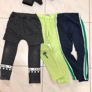三件組-Zara、Bobol 女童長褲