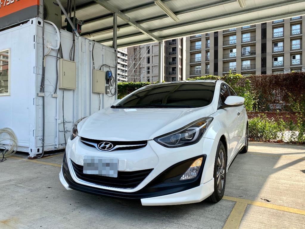 2015 Hyundai Elantra 1.8 旗艦型 轎車 空力套件 省油 里程低 實車實價