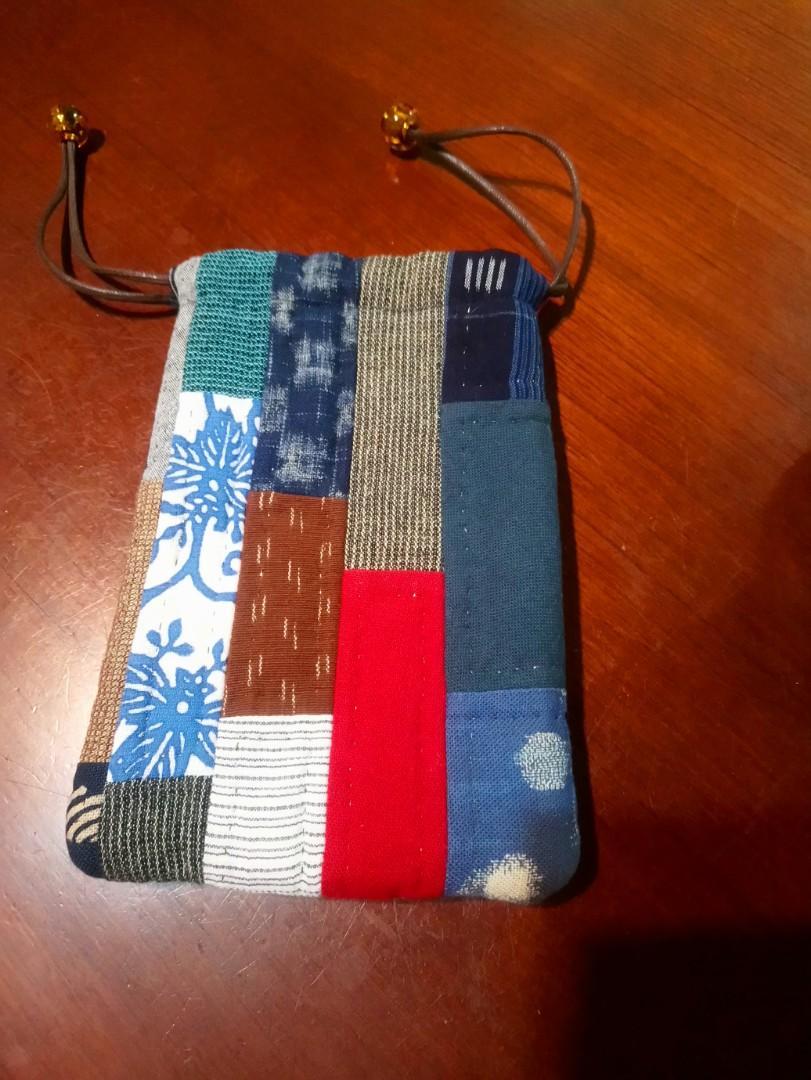 全新 拼布手機包