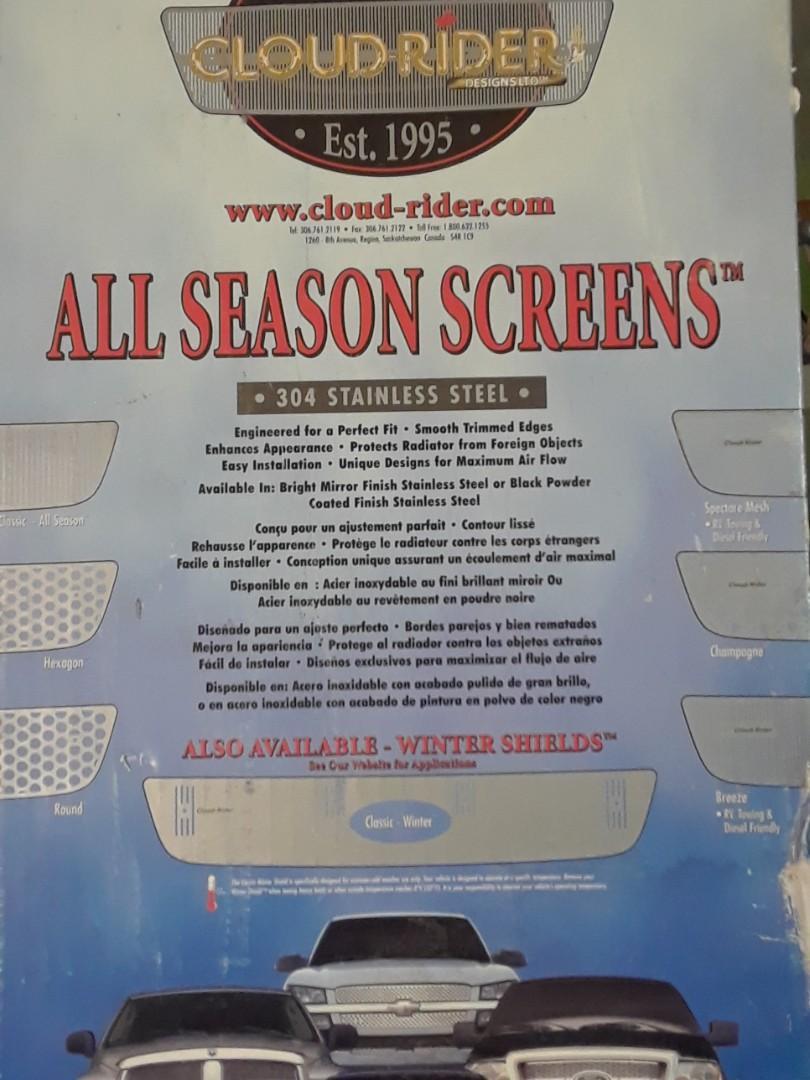 All seanson truck screan