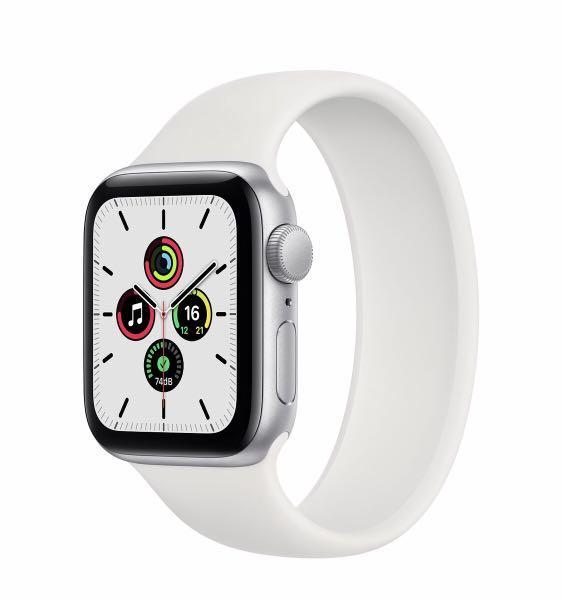 全新 Apple Watch SE GPS 銀 40mm