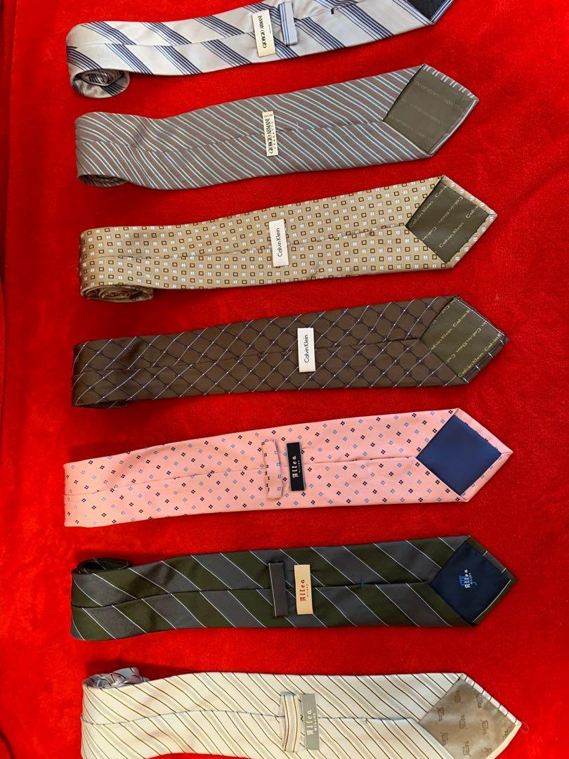 Authentic Silk Neckties