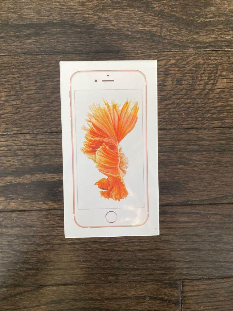 Brand new sealed in box unlocked iPhone 6s
