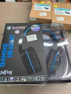 Brandnew  SADES wolfgang headphone