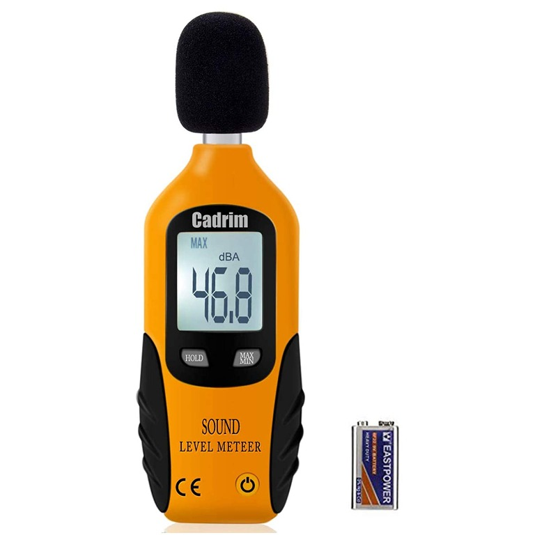 Noise Meter Tester with Hold Sound Measure for Machine Alarm System ZYL-YL Digital Sound Level Meter