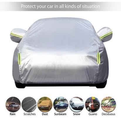 Car body cover for winter