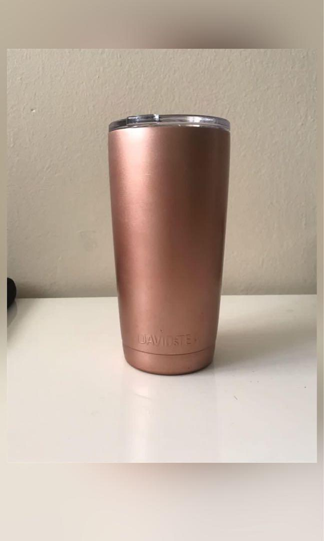 David's tea Rose gold mug