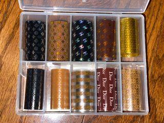 Designer nail foils