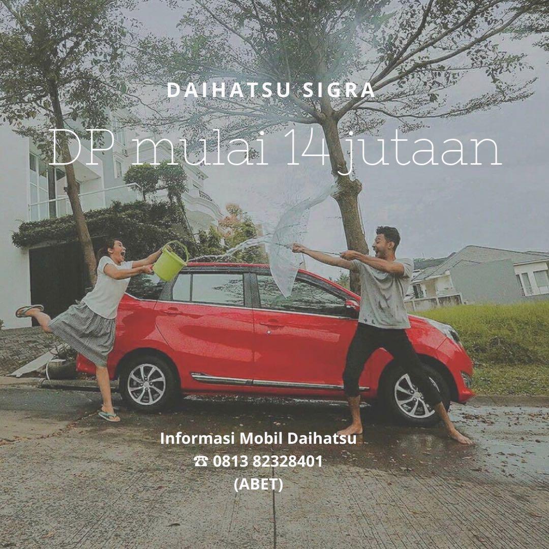 DP MURAH Daihatsu Sigra mulai 14 jutaan. Daihatsu Fatmawati