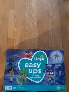 Easy up training diapers